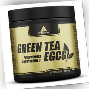 Peak Grüntee / Green Tea - EGCG - 120 Kapseln / Grüntee Extrakt Polyphenole NEU