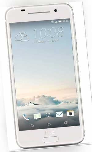 "HTC ONE A9 Smartphone 5 Zoll 16GB Android silber ""gebraucht"""