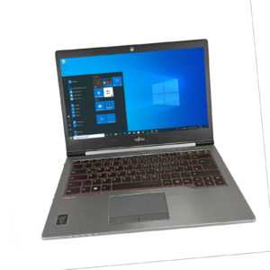 "Fujitsu LifeBook U745 i5-5200U 4GB 256GB SSD 14"" WIN10 Pro WWAN + Dockingstation"
