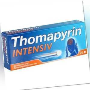 THOMAPYRIN INTENSIV Tabletten 20 St 00624605