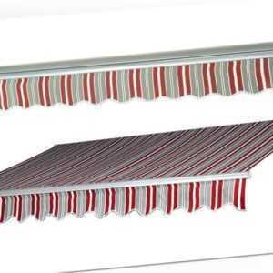 Markise elektrisch 3x2m Alumunium Sichtschutz + Fernbedienung Balkon Terrasse
