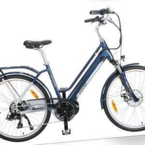 smartEC TrekX-MD Trekking Pedelec/E-Bike 26 Zoll Mittelmotor Samsung Akku
