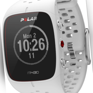 Polar M430 Laufuhr weiß Smartwatch Fitness Tracker Schlaf Tracker Bluetooth