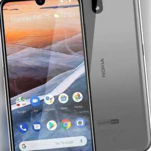 Nokia 2.2 Dual Sim Handy grau stahl Smartphone 14,5cm 5,7Zoll...