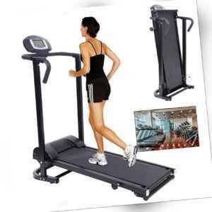 Ridgeyard Laufband Heimtrainer klappbar Fitnessgerät mit LCD Display Mechanische