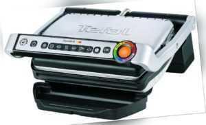 Tefal OptiGrill GC705D Kontaktgrill schwarz/silber *NEU&OVP*...