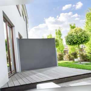 Seitenmarkise Windschutz Markise Sichtschutz Sonnenschutz Wintergarten Terrasse