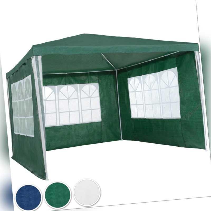Pavillon Garten Party Camping Fest Event Zelt Bier mit Seitenteile 3x3 m