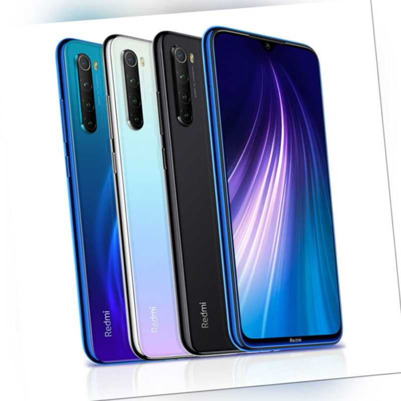 "Xiaomi Redmi Note 8 64GB 4GB 6.3"" Smartphone Dual Sim 4000mAh Global Version"