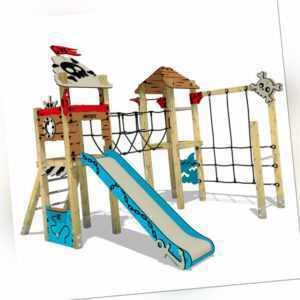 Klettergerüst Kindergarten - WICKEY PRO MAGIC - Aus Massivholz - Für Kita