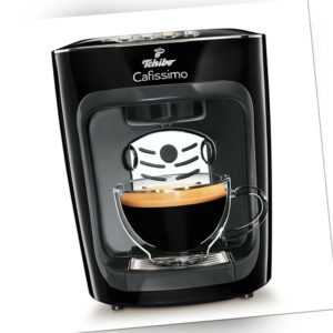 Tchibo Cafissimo mini Kaffee Kapselmaschine, Midnight Black