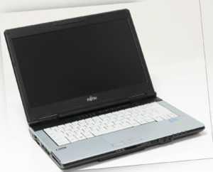 Fujitsu Lifebook S751 Notebook Core i7 2640M 320GB HDD 8GB Webcam WWAN DVD-RW