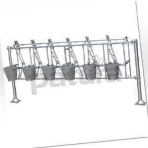 *Patura* Nuckeleimer-Montagesatz für Kälberfressgitter 4/2 183cm