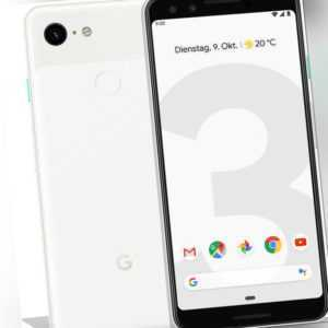 Google Pixel 3 64GB Clearly White # AU