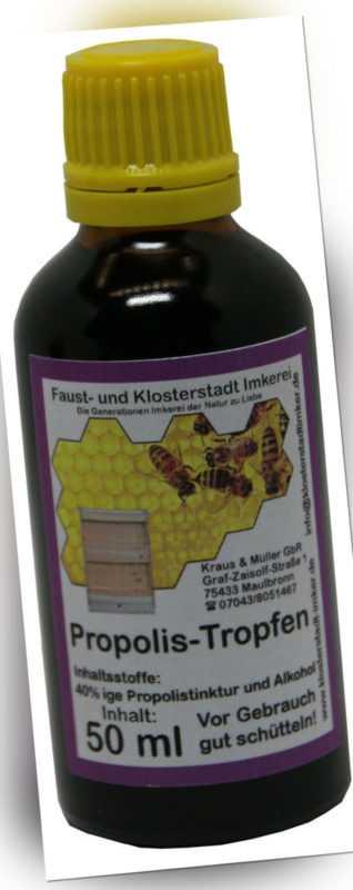 50 ml 40 % Propolis Tropfen Tinktur Lösung direkt vom Imker hergestellt