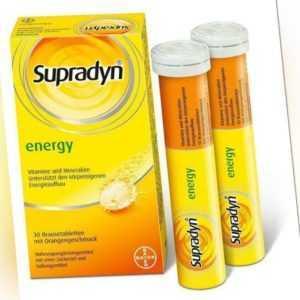 Supradyn energy Brausetabletten mit Orangengeschmack 30 St PZN: 1339143