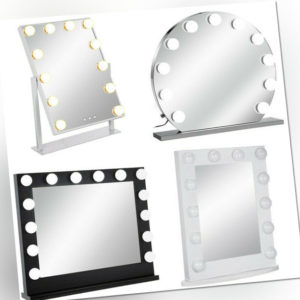 Hollywood Schminkspiegel Kosmetikspiegel Tabletop Dressing Brightness Adjust