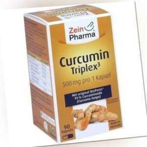 CURCUMIN-TRIPLEX3 500 mg/Kap.95% Curcumin+BioPerin 90 St 08768953