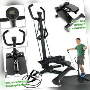 SWING SIDE STEPPER mit Griff ideal für Einsteiger, Senioren   fester Handgriff