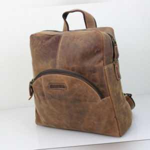 Schöner Leder Rucksack aus der Hunter Collection von Bayern Bag
