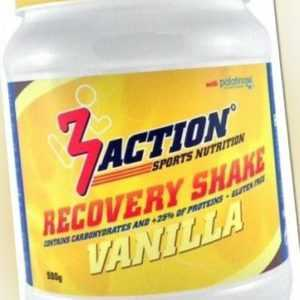 3Action Recovery - Shake Vanille 500 Gramm