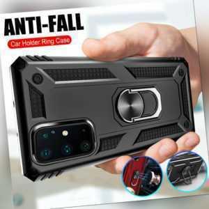Für Samsung A71 A51 A41 A21s Armour Stoßfest Ständer Handy Hülle + Displayschutz