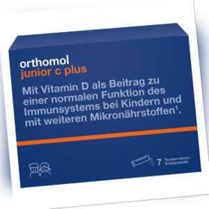 Orthomol Junior C plus Granulat 14g PZN 10013222