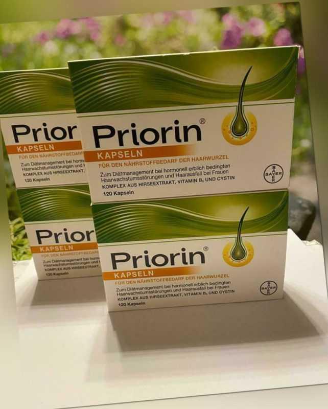 Priorin Kapseln - Versorgt die Haarwurzel mit Mikronährstoffen - 480 Stück