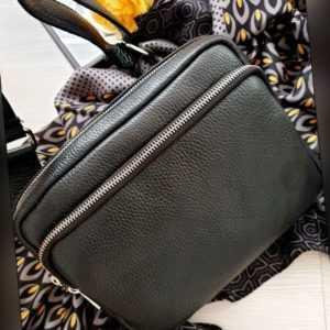 Bauchtasche Gürteltasche Umhängetasche Leder Tasche DAVINIA BIG Made in Italy