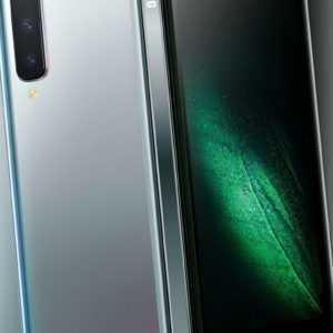 SAMSUNG Galaxy Fold 5G 512 GB 6 Kameras 12 GB RAM space silver...
