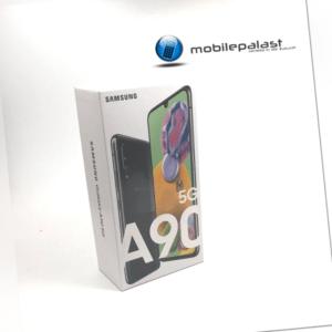 SAMSUNG Galaxy A90 5G SM-A908 ohne Vertrag schwarz black NEU OVP