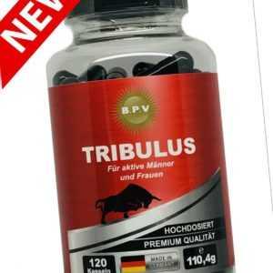 BPV - TRIBULUS - Testo Booster- Testosteron- Muskelaufbau- Anabolika- Steroide