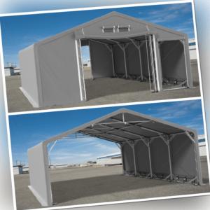 4x8m - 8x12m Lagerzelt Industriezelt Garagenzelt Pavillon PVC 600g/m2 Lagerhalle