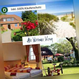 Ostsee 4 Tage Kurzurlaub Insel Rügen Land-Hotel Alt Wittower Krug Gutschein