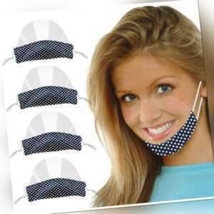 4 Stück Gesichtsschild Face Shield Visier Mund Nasen Schutz Schutzvisier NUE!!