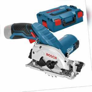 Bosch Akku-Kreissäge GKS 12V-26 Clic&Go Solo in L-Boxx - 06016A1002