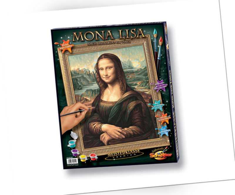 Schipper 609130511 Mona Lisa Malen nach Zahlen