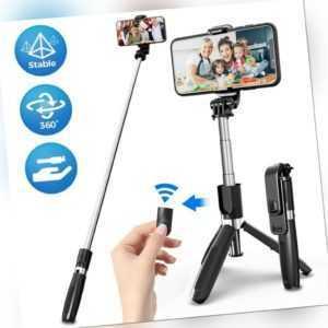 Wireless Bluetooth Selfie Stick Stativ 3 in 1 Erweiterbar Monopod 360° Rotation