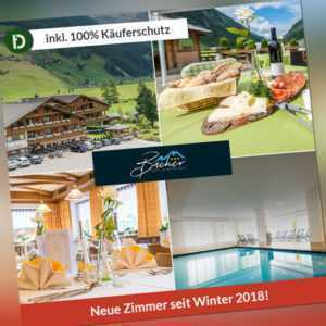 6 Tage Urlaub im Hotel Bacher in Sand in Südtirol mit Halbpension