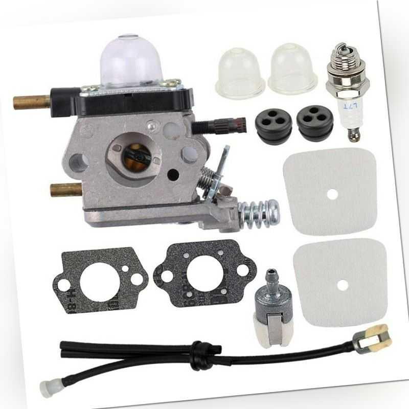 5X(C1U-K54A C1U-K17 Vergaser-Repower-Kit für 2-Takt-Mantis 7222 7222E 7222M1J2)