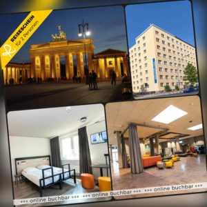 Städtereise Berlin 4 Tage 2 Personen a&o Hotel Hotelgutschein Kurzurlaub Reise