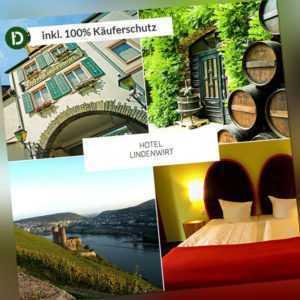 Drosselgasse in Rüdesheim am Rhein, 4 Tage Urlaub im Weingarten-Hotel Lindenwirt