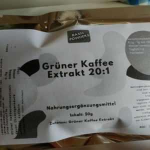 Grüner Kaffee Extrakt 20:1 (100g)