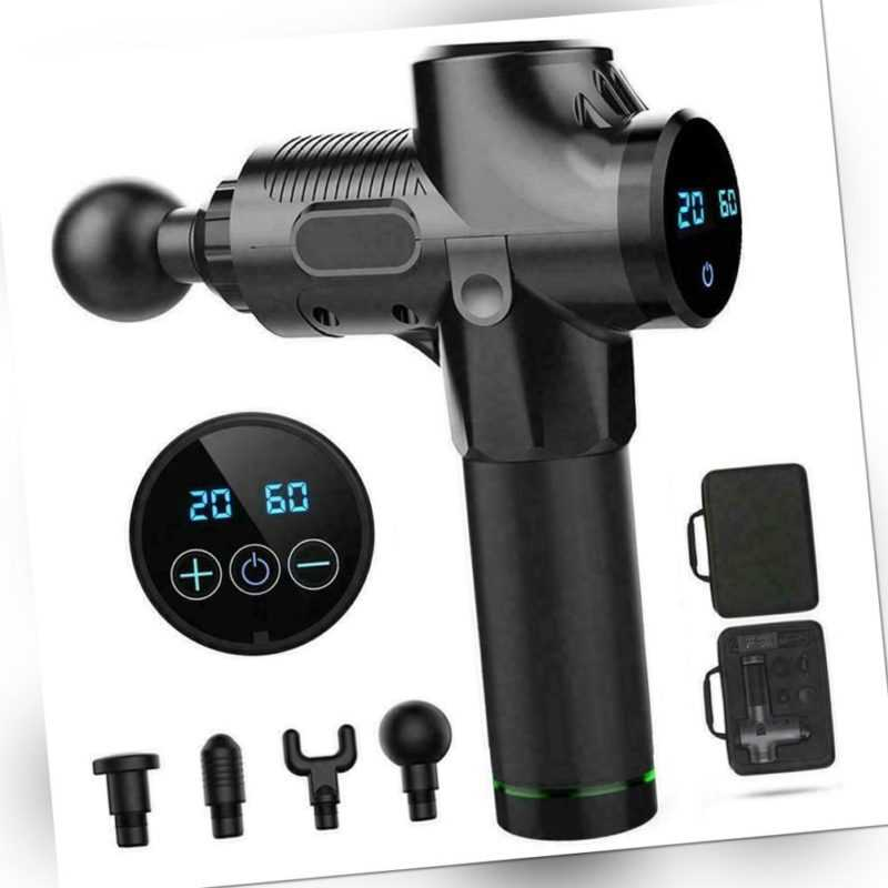 Muscle Massage Gun Therapy Massagegeräte Body Relaxation Pain Relief  Massager