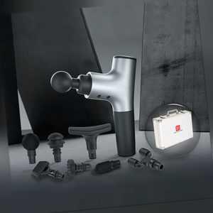 Hi5 Nova Vibrationsmassagegerät Massage Gun Fitness Muskel Entspannung Silber