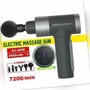Electric Massage Gun Massagepistole Massagegerät Elektrische Massagegeräte 7200