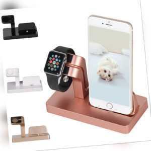 2in1 Ladestation Für Apple Watch iWatch iPhone X 8 7 Halterung Dockingst
