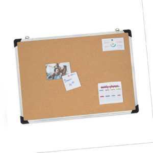 Pinnwand Kork Aluminium-Rahmen Korkpinnwand Korktafel Cork Board Korkwand