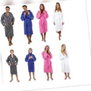 Betz Kapuzenbademantel NIZZA 100% Baumwolle Damen Herren Kinder