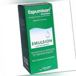 ESPUMISAN Emulsion f. bildgebende Diagnostik 250 ml 01874681